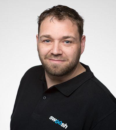 Robban Inal, Produktionsledare, Swoosh