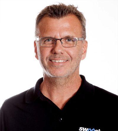 Peter Lindblom, Sälj / Marknad, Swoosh